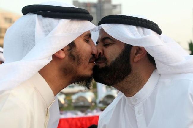 15.) Nose Kiss - Oman