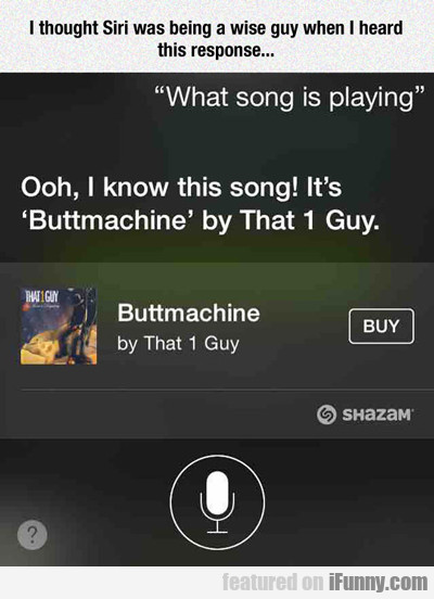 I Thought Siri Was Being A Wise Guy...
