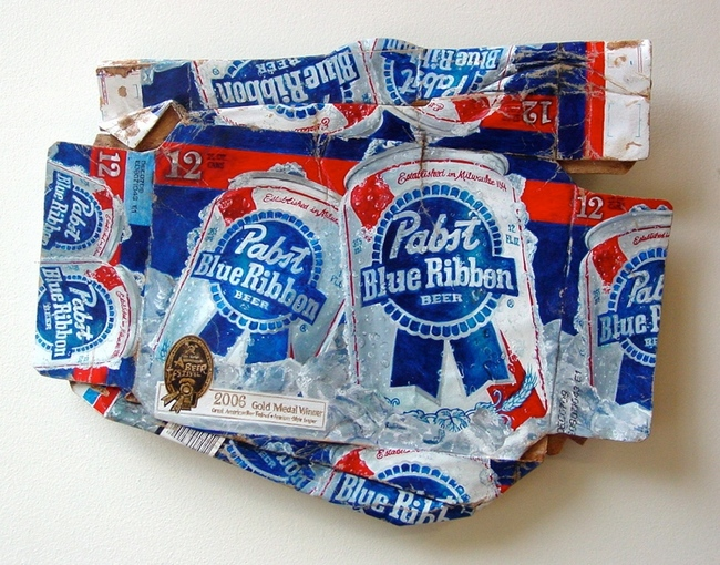 9.) Case of Pabst Blue Ribbon