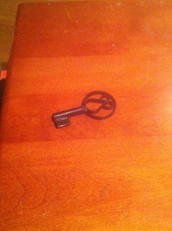 They also had a key that unlocked only God knows what.