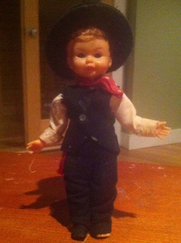 Because every stranger living secretly inside of your walls need dolls with soulless eyes.
