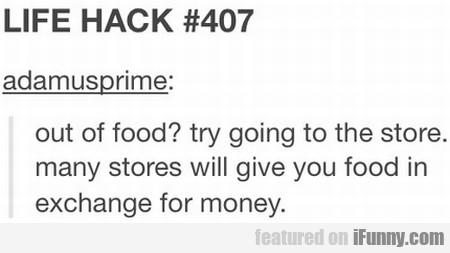 Life Hack #407