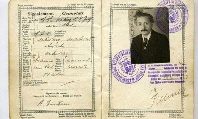 1.) Albert Einstein.