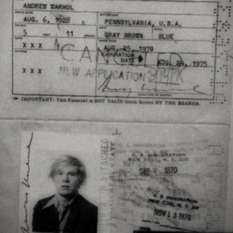 2.) Andy Warhol.