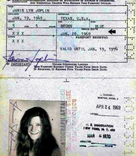 3.) Janis Joplin.