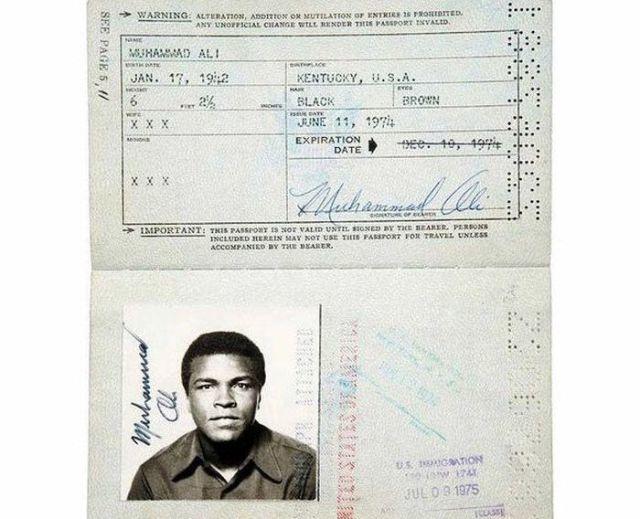 5.) Muhammad Ali.