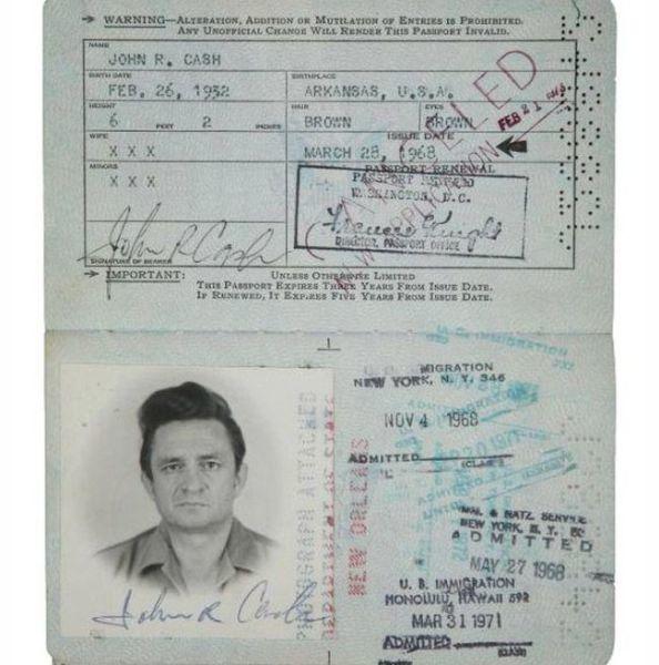 4.) Johnny Cash.