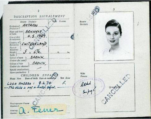 7.) Audrey Hepburn.