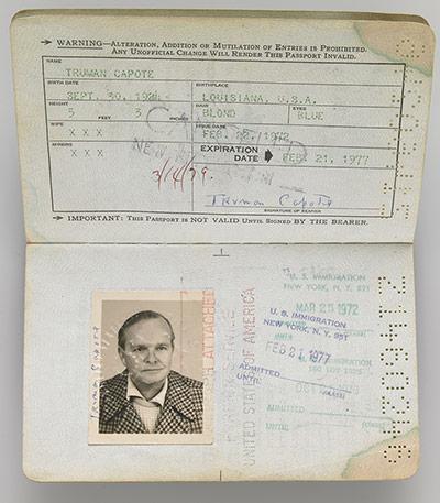 16.) Truman Capote.