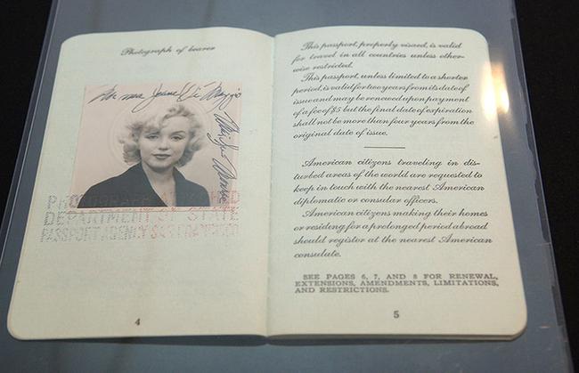 13.) Marilyn Monroe.