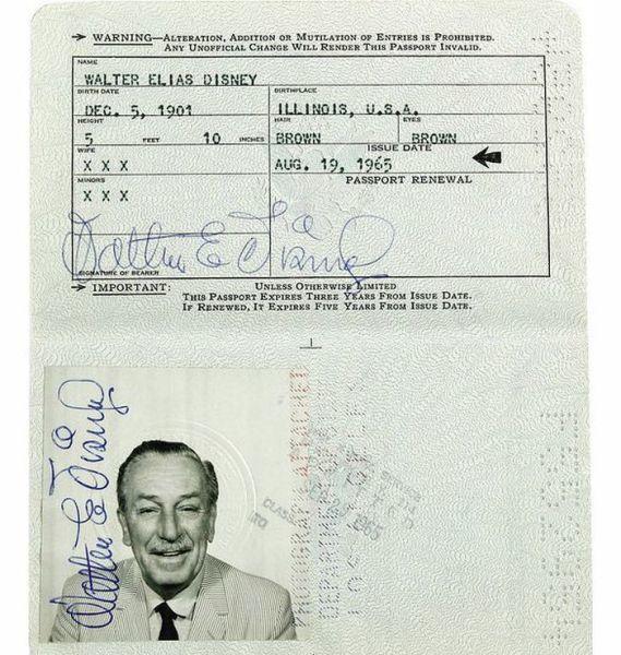 21.) Walt Disney.
