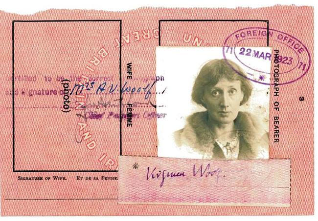 18.) Virginia Woolf.