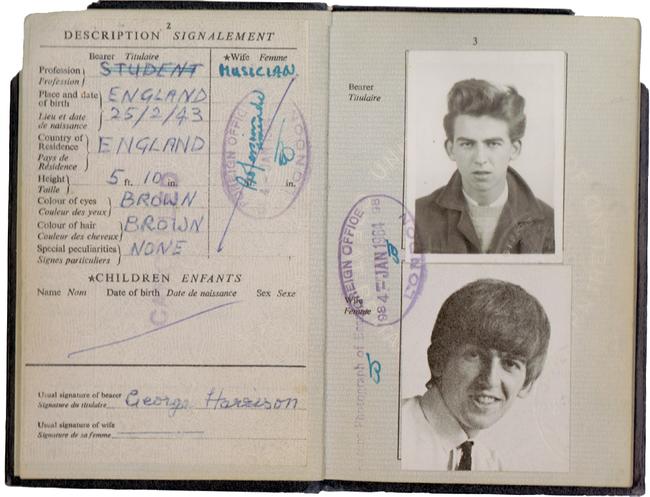 22.) George Harrison.
