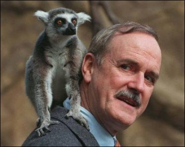 Hey, at least Cleese has a lemur named after him as well.