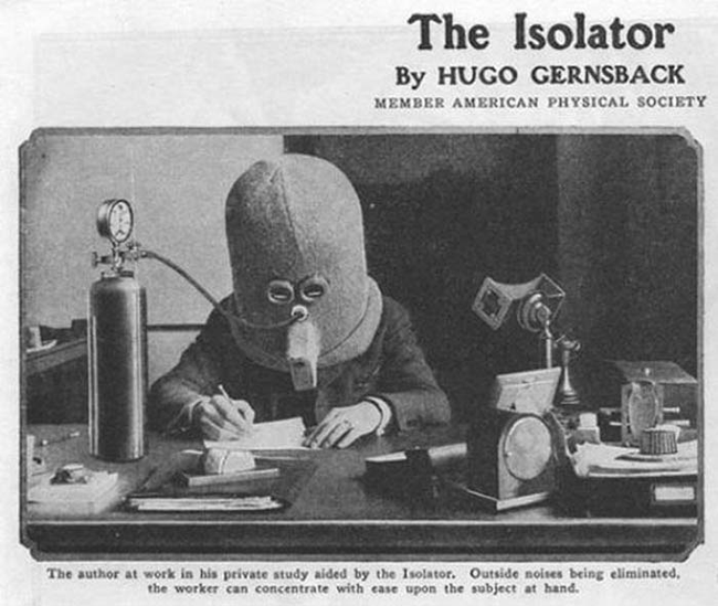 1.) The Isolator.