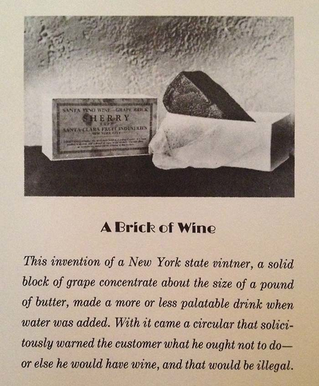 6.) Bricks Of Wine.