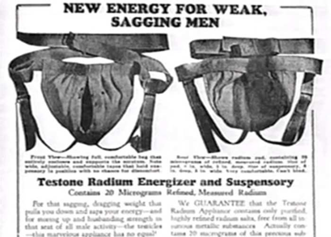10.) Radiation For Your Testicles.