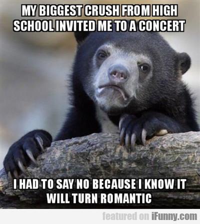 My Biggest Crush From High School...