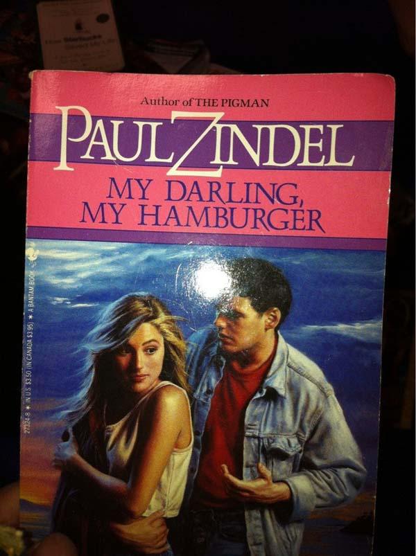 16.) Nothing says romance like hamburgers.