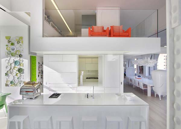 Skyhouse was created in a NYC apartment space.