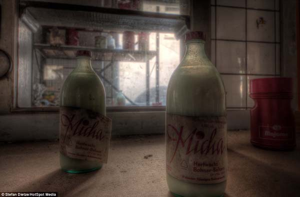 These bottles have been sitting on the counter for two decades.