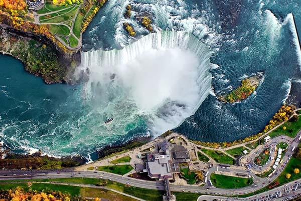 1.) Niagara Falls (Canada)