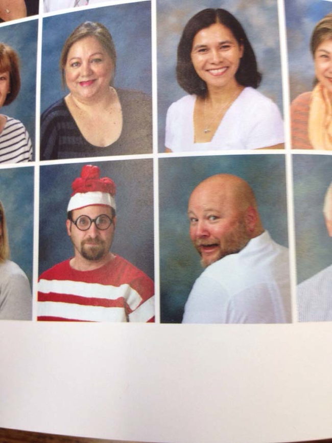 3.) Best yearbook photo ever.