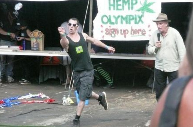 10.) Hemp Olympics: Athletes compete in ancient Bonnaroo events such as 'joint rolling' and 'bong throwing'. I guess the second one is really just what they have to do when the cops show up.