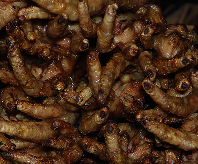 8) Fried Chicken Feet - Not so bad, these are probably already in your nuggets.