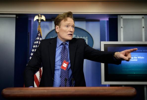 3.) Conan O'Brien