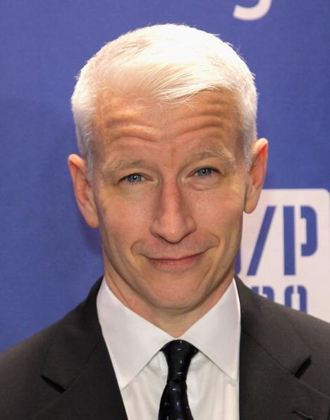 9.) Anderson Cooper